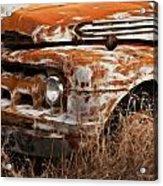 Ford Old School Bus Acrylic Print