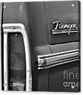 Ford Ranger Acrylic Print by Andres LaBrada