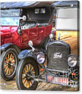 Ford-t  Mobiles Of The 20th Acrylic Print