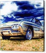 Ford Thunderbird Hdr Acrylic Print