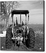 Ford Tractor Rear View Acrylic Print