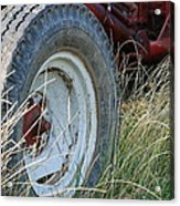 Ford Tractor Tire Acrylic Print