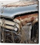 Ford Truck Old F350 Acrylic Print