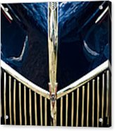 Ford V8 Grill Acrylic Print by Phil 'motography' Clark