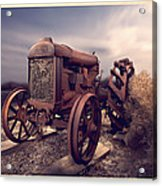 Fordson F Tractor Acrylic Print