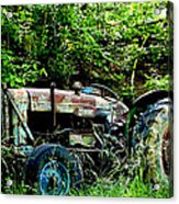 Fordson Major Diesel Acrylic Print by Robert J Andler
