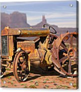 Fordson Tractor Acrylic Print
