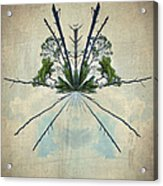 Forest Bouquet Wee Planet Acrylic Print