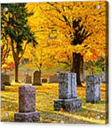 Autumn At Forest Hill Acrylic Print