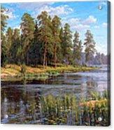 Forest Lake Acrylic Print