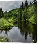 Forest Lake - Quebec - Canada Acrylic Print