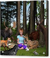 Forest Rendezvous Acrylic Print