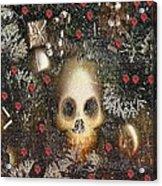 Forest Skull Pop Art Acrylic Print
