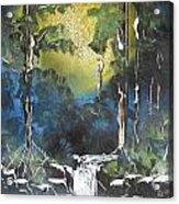 Forest Sun Acrylic Print