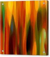Forest Sunlight Vertical Acrylic Print