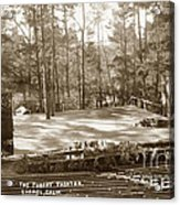 Forest Theater Carmel California  Circa 1930 Acrylic Print