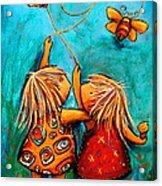 Forever Friends Acrylic Print by Karin Taylor