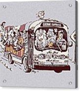 Forever Homeward Version Two Acrylic Print
