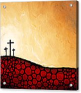 Forgiven - Christian Art By Sharon Cummings Acrylic Print