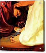 Forgiven Acrylic Print by Jennifer Page
