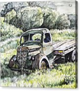 Forgotten Acrylic Print by Aaron Spong