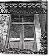 Forgotten Balcony Acrylic Print
