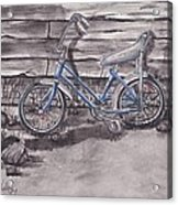 Forgotten Banana Seat Bike Acrylic Print