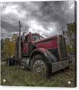 Forgotten Big Rig 2014 V2 Acrylic Print