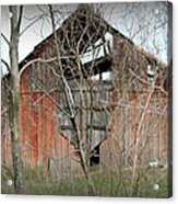 Forgotten By Time Acrylic Print