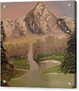 Forgotten Falls Acrylic Print