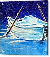 Forgotten Rowboat Acrylic Print