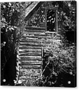 Forgotten Log Cabin Acrylic Print