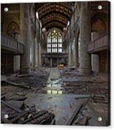 Forgotten Sermons Acrylic Print