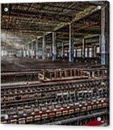 Forgotten Silk Mill Acrylic Print
