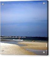 Forida Beach Acrylic Print