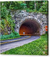 Fork Mountain Tunnel Acrylic Print
