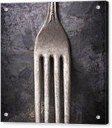 Fork Still Life Acrylic Print