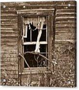 Forlorn Window Acrylic Print