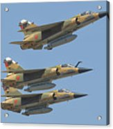 Formation Of Royal Moroccan Air Force Acrylic Print
