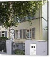 former home of Anne Frank Marbachweg Frankfurt am Main Germany Acrylic Print