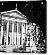 former national congress building Santiago Chile Acrylic Print