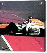 Formula 1 Grand Prix Crash Acrylic Print