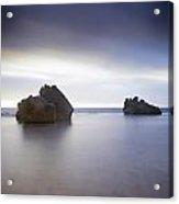 Forresters Beach Sunrise 2 Acrylic Print by Steve Caldwell