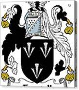 Forstall Coat Of Arms Irish Acrylic Print