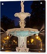 Forsyth Park Fountain Savannah Georgia Acrylic Print