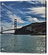 Fort Baker View Acrylic Print