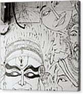 Cochin Graffiti Acrylic Print