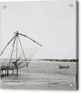 Fort Cochin Acrylic Print