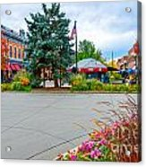 Fort Collins Fall Acrylic Print by Baywest Imaging