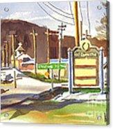 Fort Davidson Memorial Pilot Knob Missouri Acrylic Print